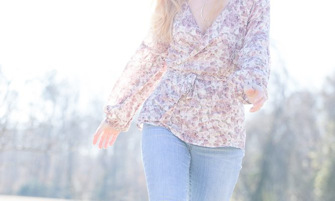 "The ""Free Spirit"" Wrap blouse"