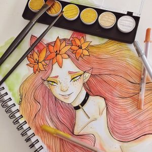 Tiger Lily by Ciarra Stebbins (@Ciarra_13). Find more at www.gossamerydreams.com