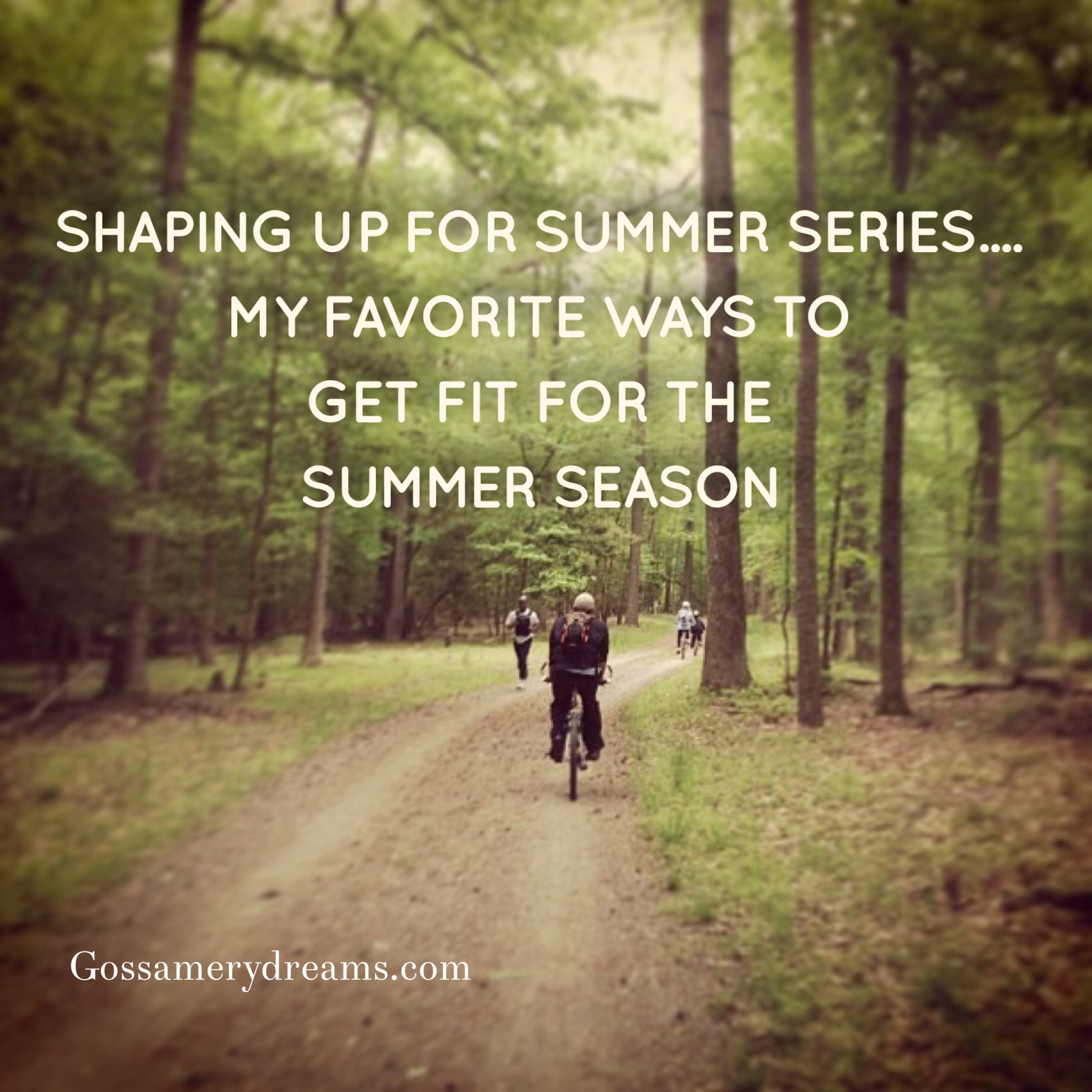 Shaping up for summer series! Come get fit with me! Visit www.gossamerydreams.com to learn more.