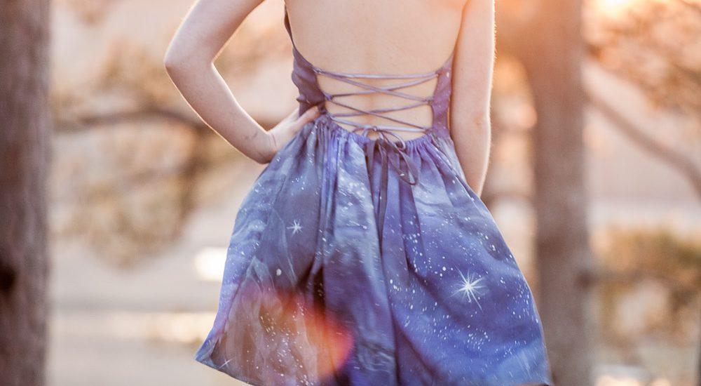 """Summer Style""Series Post #2-Mini Dress & Earrings"