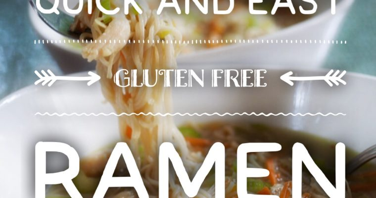 Quick and Easy Gluten-free Ramen!