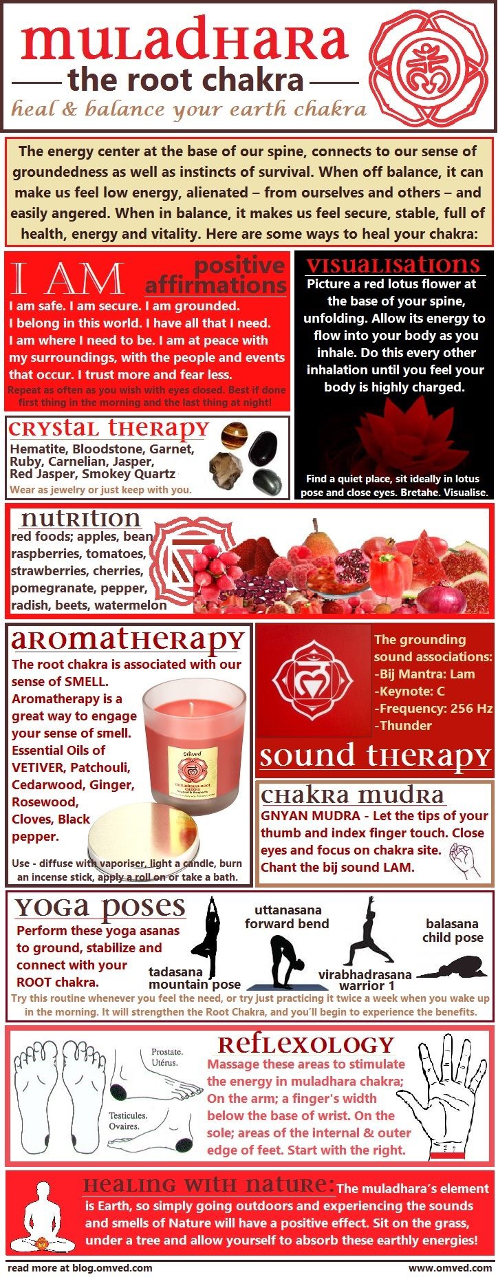 The Root Chakra-part of our Chakra series @www.gossamerydreams.com