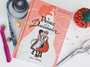 The Prince and the Dressmaker by Jen Wang. Read more at www.gossamerydreams.com