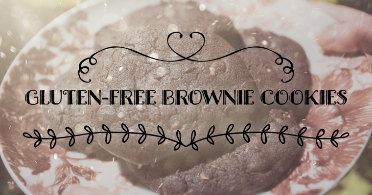 Gluten-free Brownie Cookies