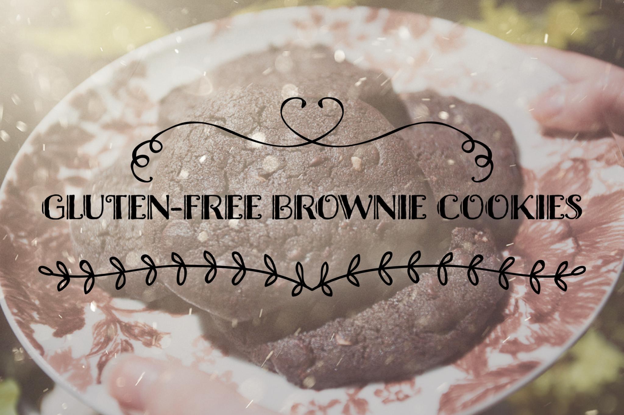 Gluten-free Brownie Cookies