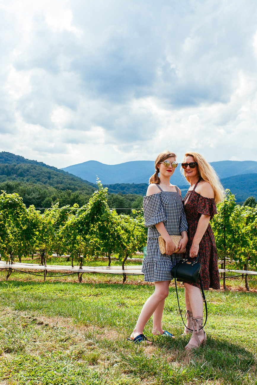 Our Anniversary Celebration-Visiting the wineries of the Monticello Wine Trail