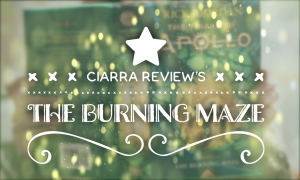 Ciarra Review's - Burning Maze, read more at gossamerydreams.com