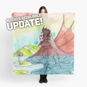 Massive Redbubble Update @ciarra-13!