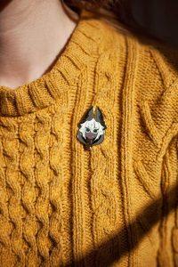 Enamel pin by Reyhan Yil.